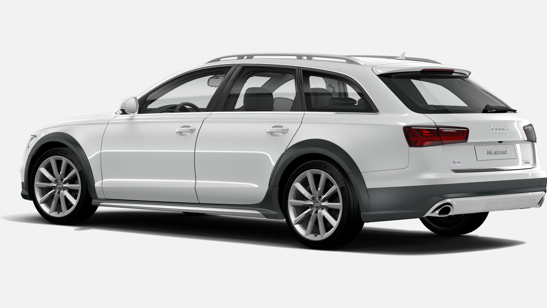 Vista Tres cuartos trasera izquierda de Audi A6 Allroad 3.0 TDI Advanced ed quattro S tron 160 kW (218 CV)