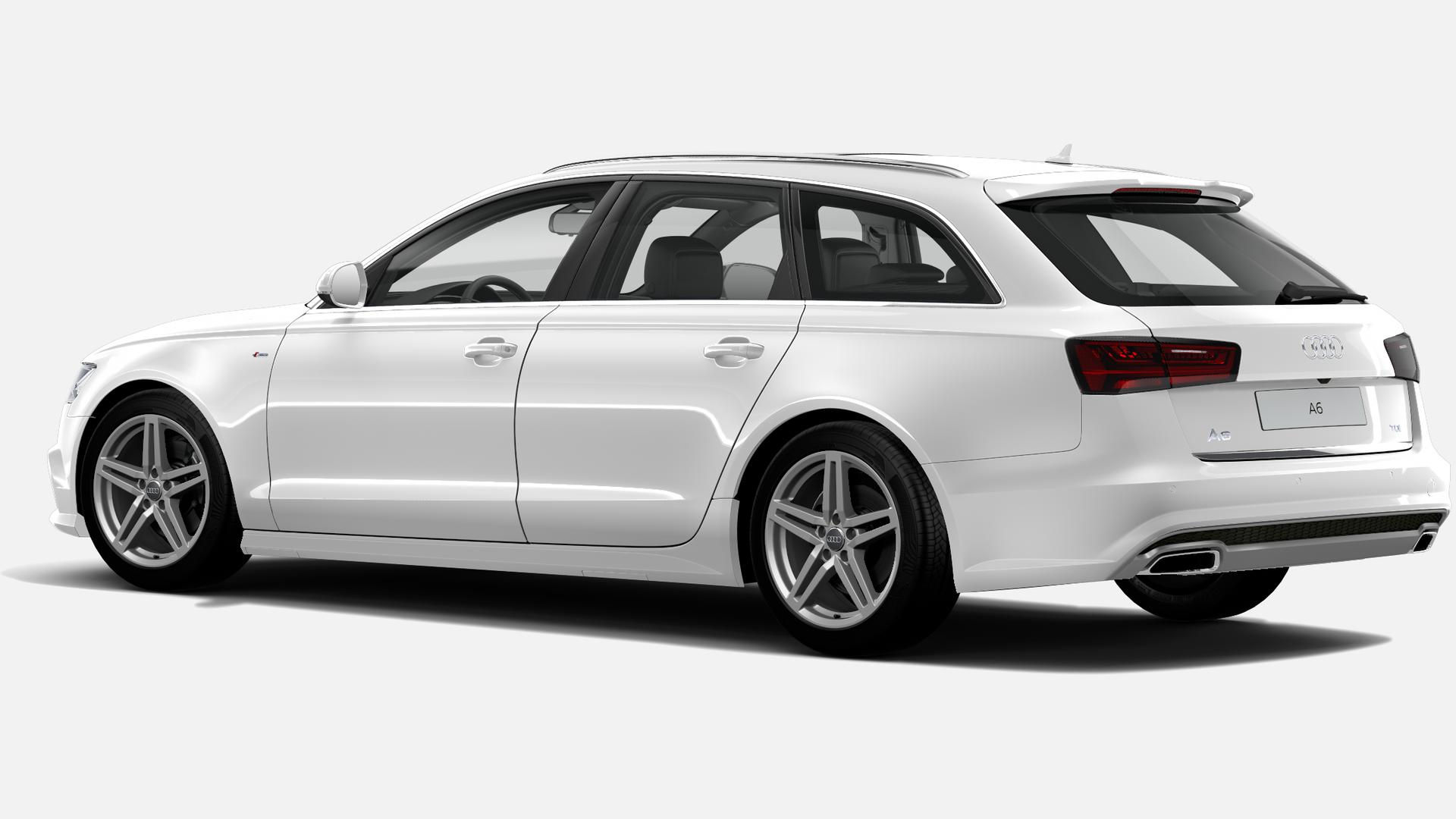 Vista Tres cuartos trasera izquierda de Audi A6 Avant 2.0 TDI line ultra S tronic 140 kW (190 CV)