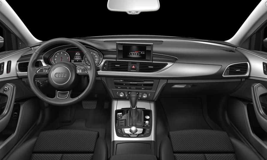 Vista Interior delantera de Audi A6 Avant 2.0 TDI line ultra S tronic 140 kW (190 CV)