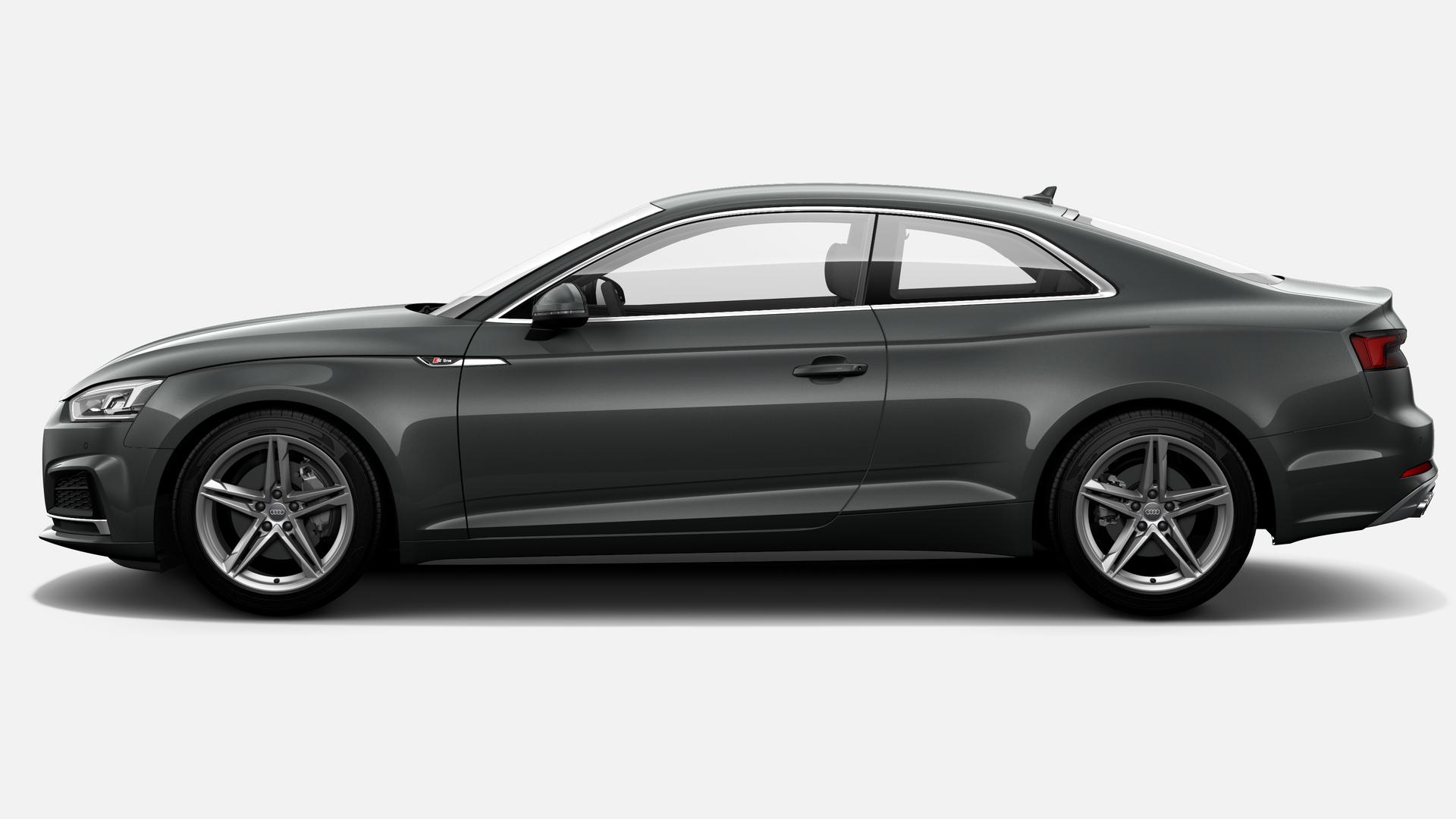 Vista Lateral izquierda de Audi A5 Coupe 2.0 TDI S line S tronic 140 kW (190 CV)
