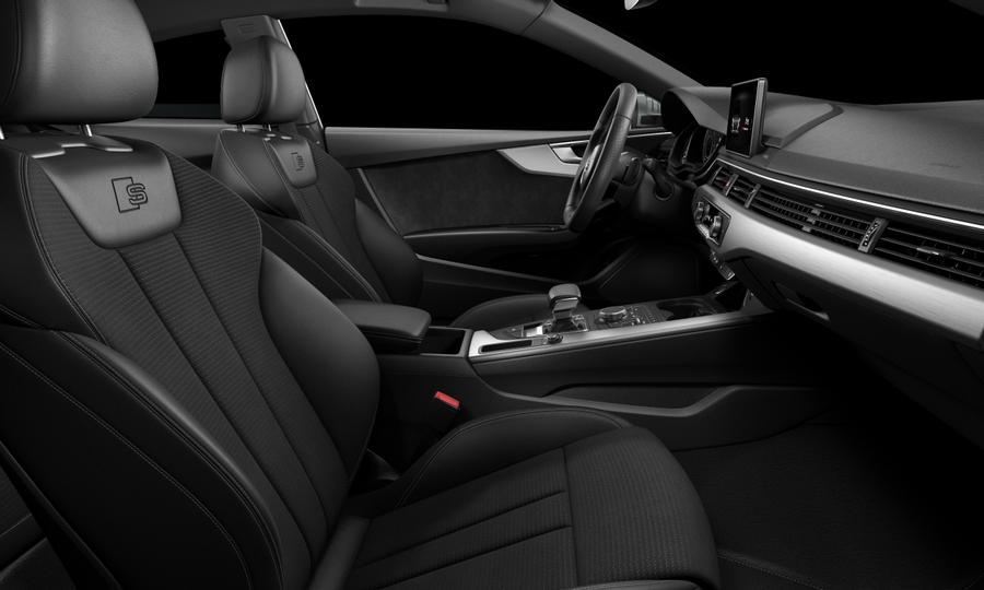 Vista Interior derecha de Audi A5 Coupe 2.0 TDI S line S tronic 140 kW (190 CV)