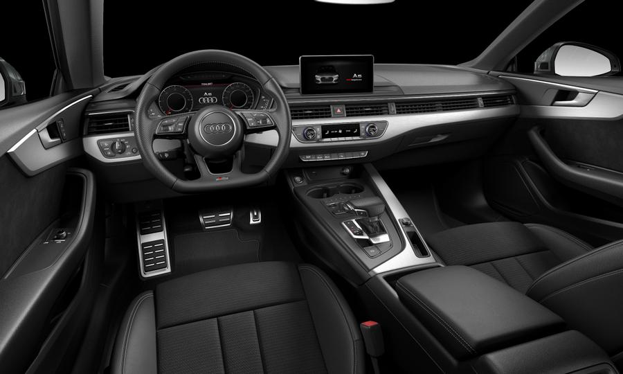 Vista Interior delantera de Audi A5 Coupe 2.0 TDI S line S tronic 140 kW (190 CV)