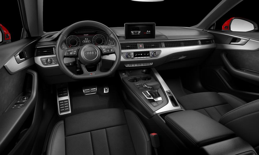 Vista Interior delantera de Audi A5 Sportback 2.0 TDI Sport S tronic 140 kW (190 CV)
