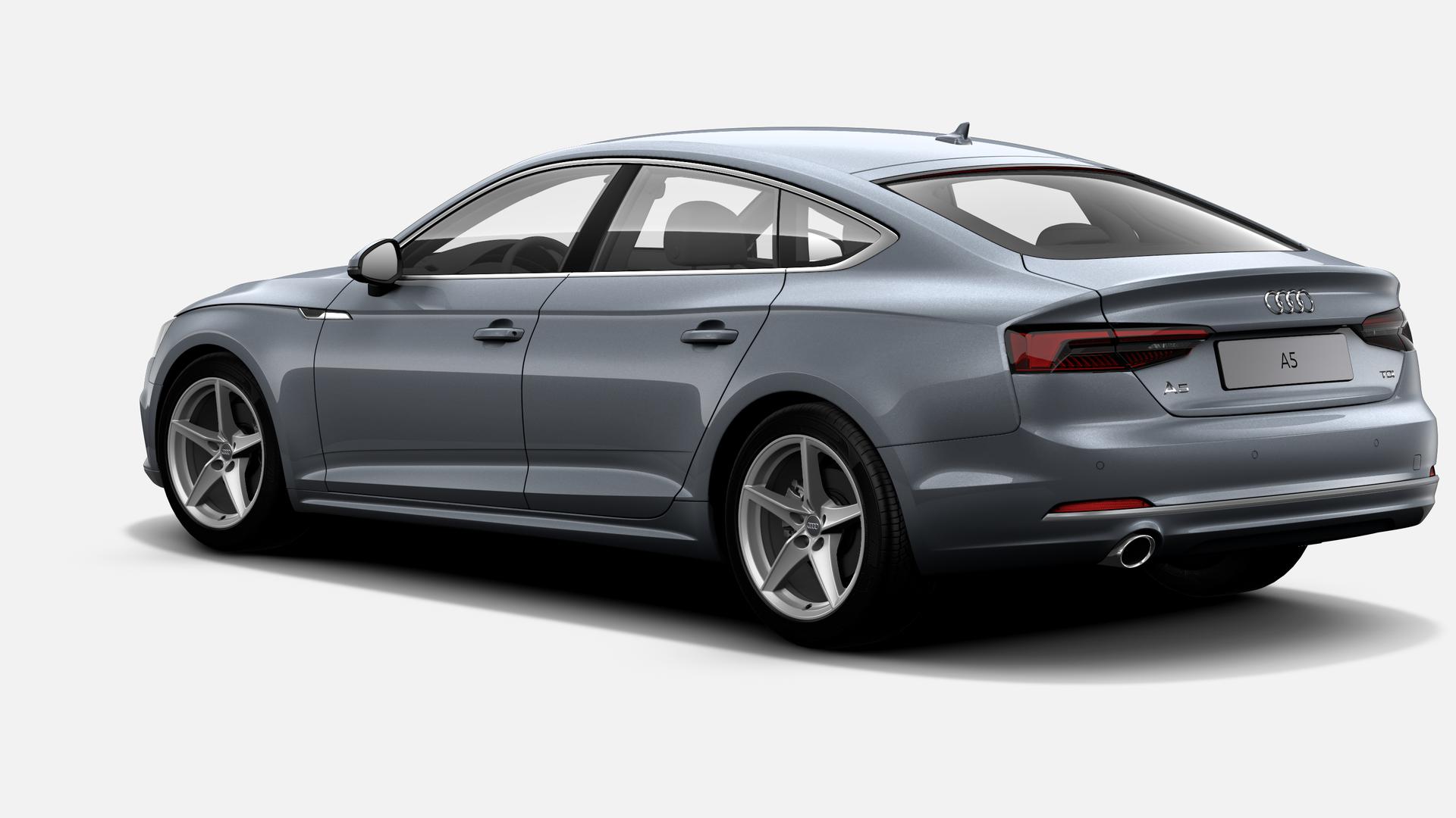 Vista Tres cuartos trasera izquierda de Audi A5 Sportback 2.0 TDI Sport S tronic 110 kW (150 CV)