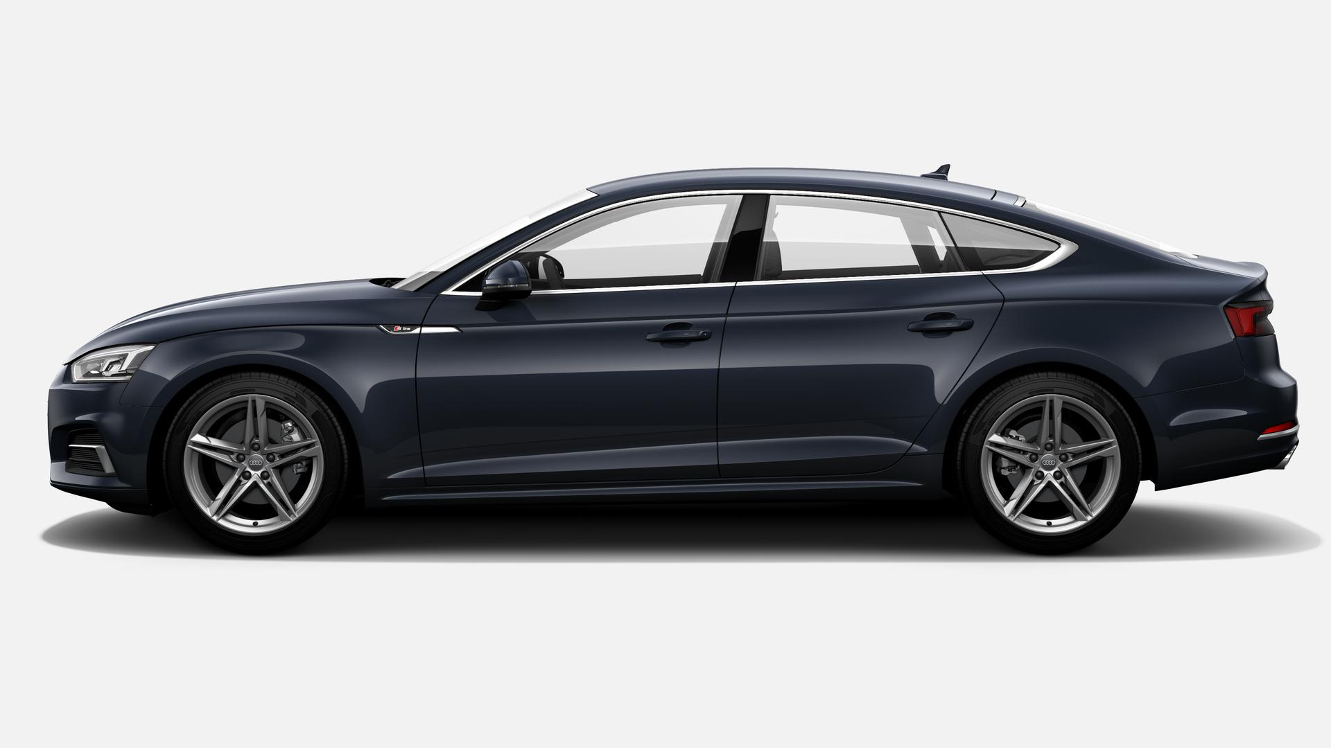 Vista Lateral izquierda de Audi A5 Sportback 1.4 TFSI sport S tronic 110 kW (150 CV)