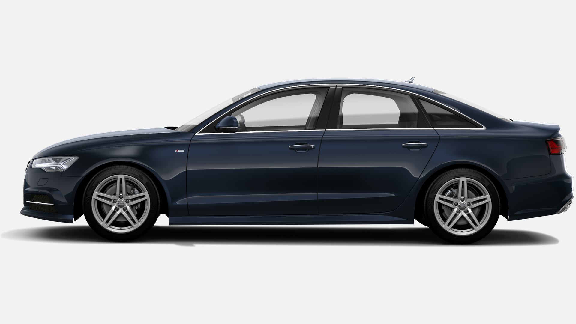 Vista Lateral izquierda de Audi A6 2.0 TDI S line edition S tronic 140 kW (190 CV)