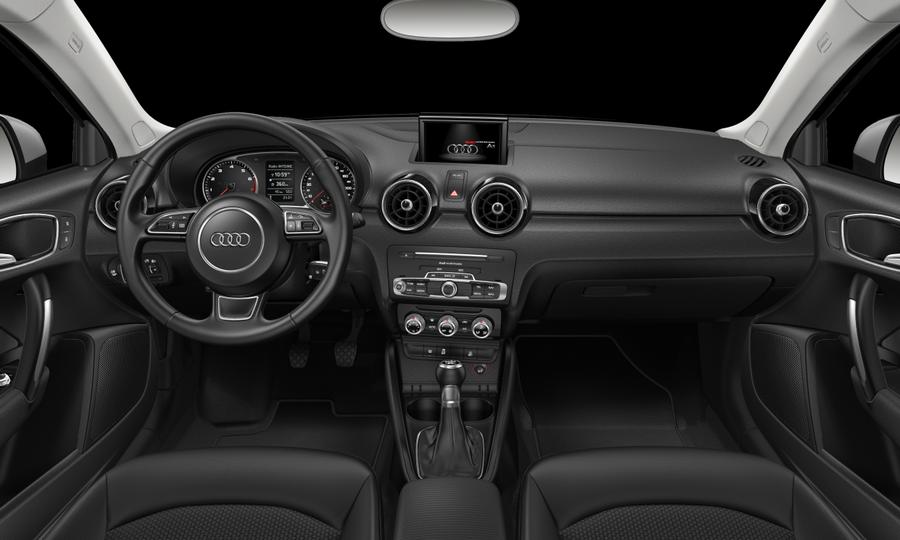 Vista Interior delantera de Audi A1 1.0 TFSI Adrenalin 70 kW (95 CV)