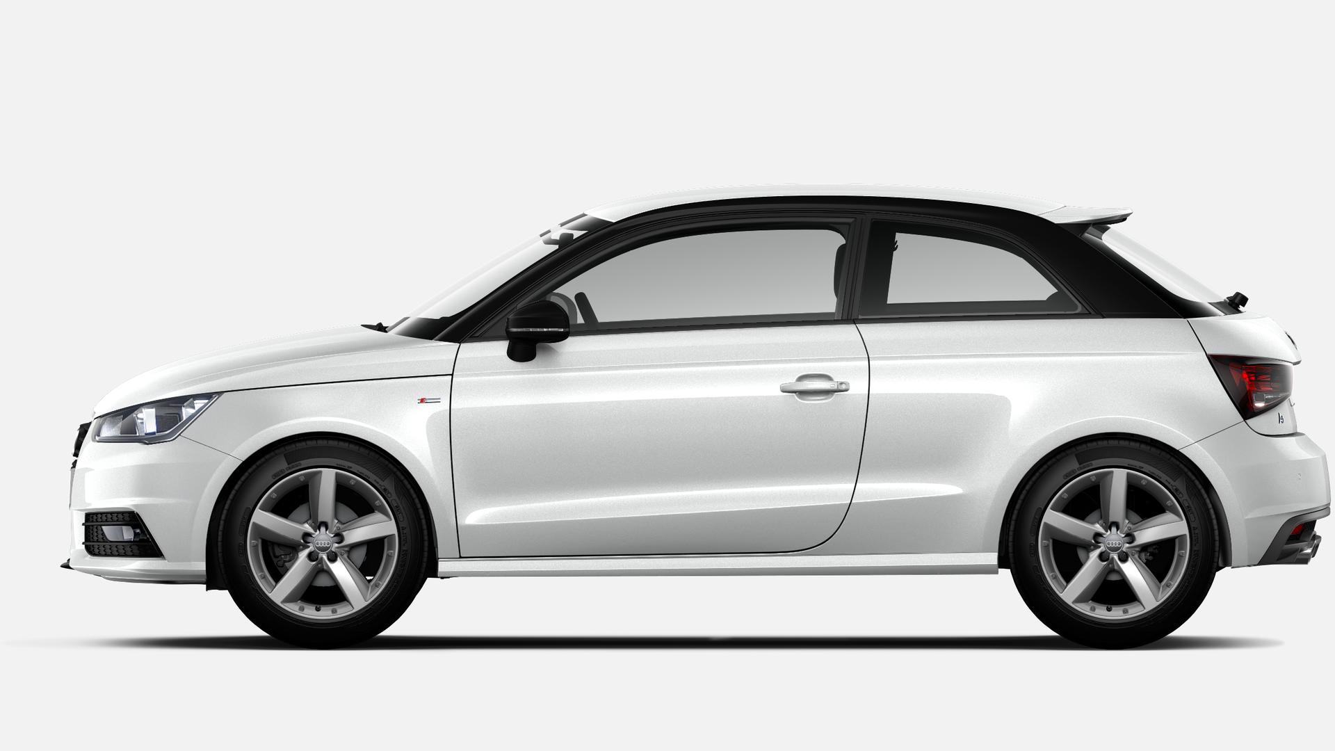 Vista Lateral izquierda de Audi A1 1.0 TFSI Adrenalin 70 kW (95 CV)