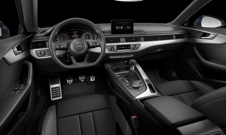 Vista Interior delantera de Audi A5 Sportback 2.0 TFSI sport 140 kW (190 CV)