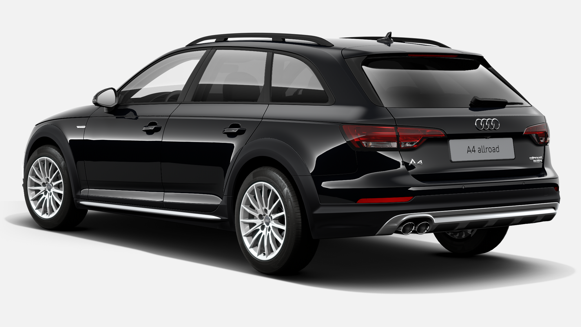 Vista Tres cuartos trasera izquierda de Audi A4 Allroad 2.0 TDI unlimited quattro S tronic 140 kW (190 CV)