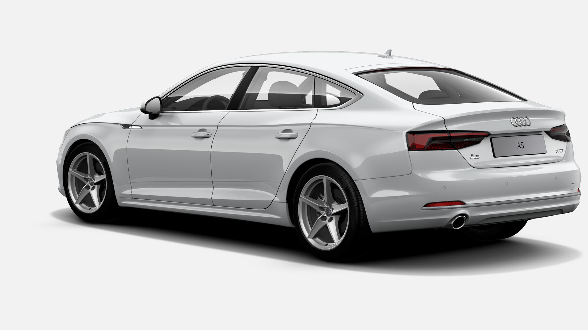 Vista Tres cuartos trasera izquierda de Audi A5 Sportback 1.4 TFSI sport S tronic 110 kW (150 CV)