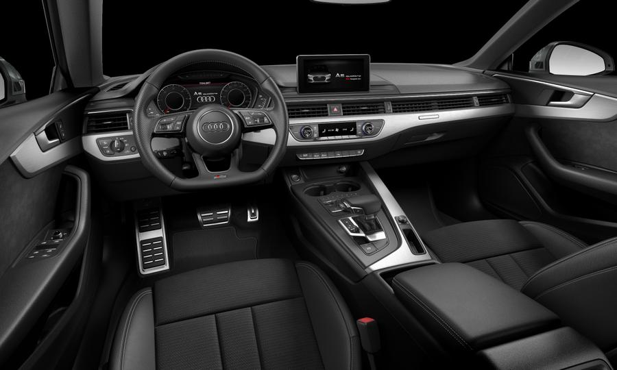 Vista Interior delantera de Audi A5 Sportback 2.0 TDI Sport quattro S tronic 140 kW (190 CV)