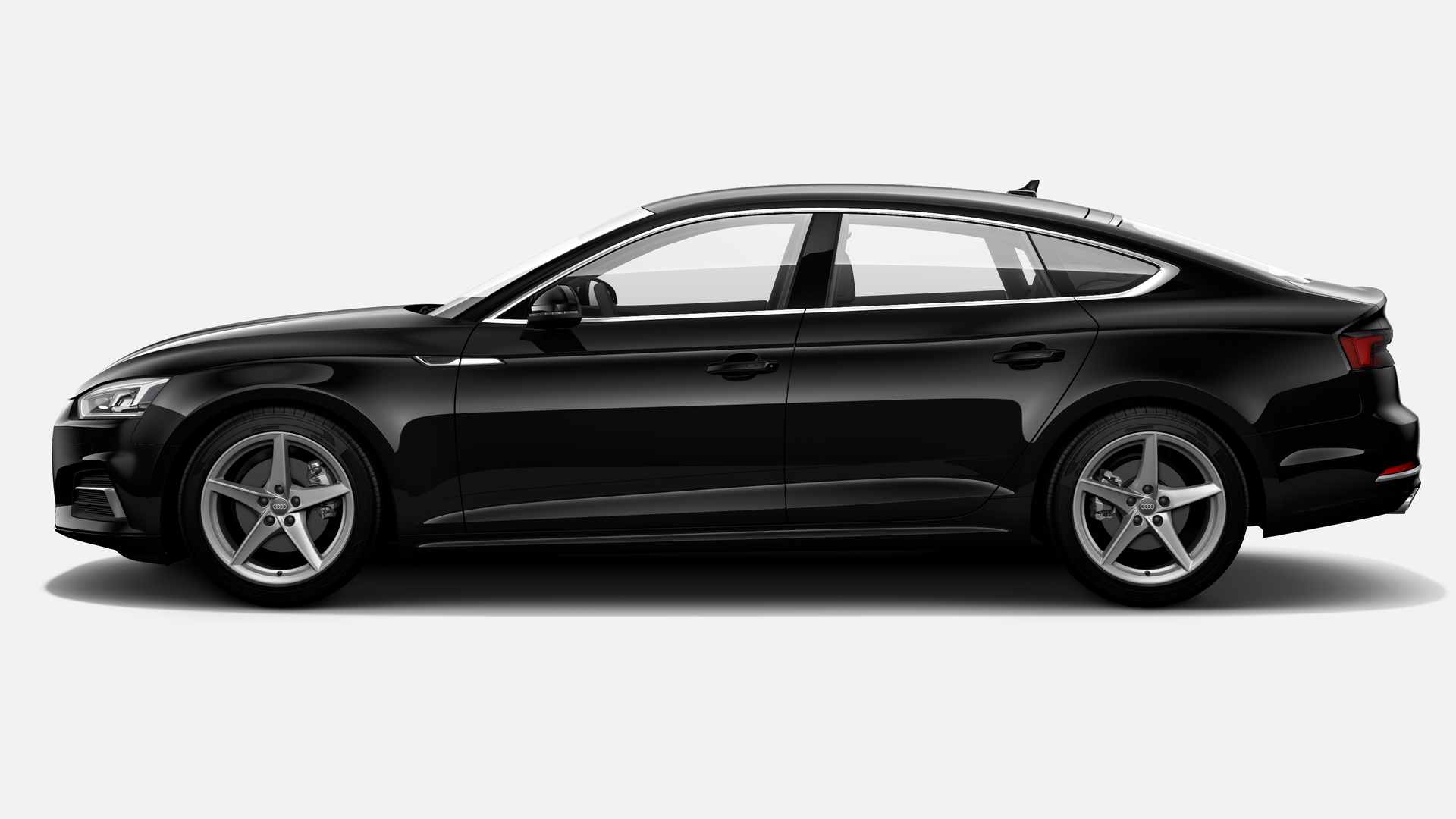 Vista Lateral izquierda de Audi A5 Sportback 2.0 TDI Sport S tronic 110 kW (150 CV)