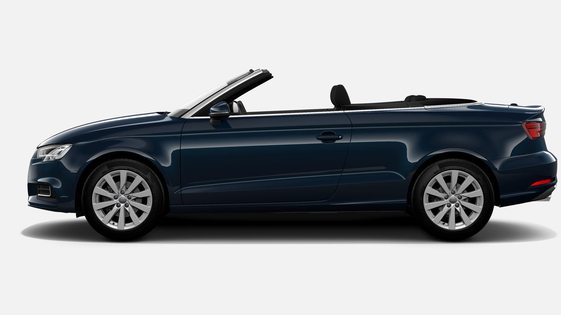 Vista Lateral izquierda de Audi A3 Cabrio 1.5 TFSI Design Edition CoD EVO 110 kW (150 CV)