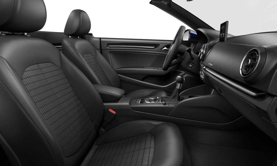 Vista Interior derecha de Audi A3 Cabrio 1.5 TFSI Design Edition CoD EVO 110 kW (150 CV)