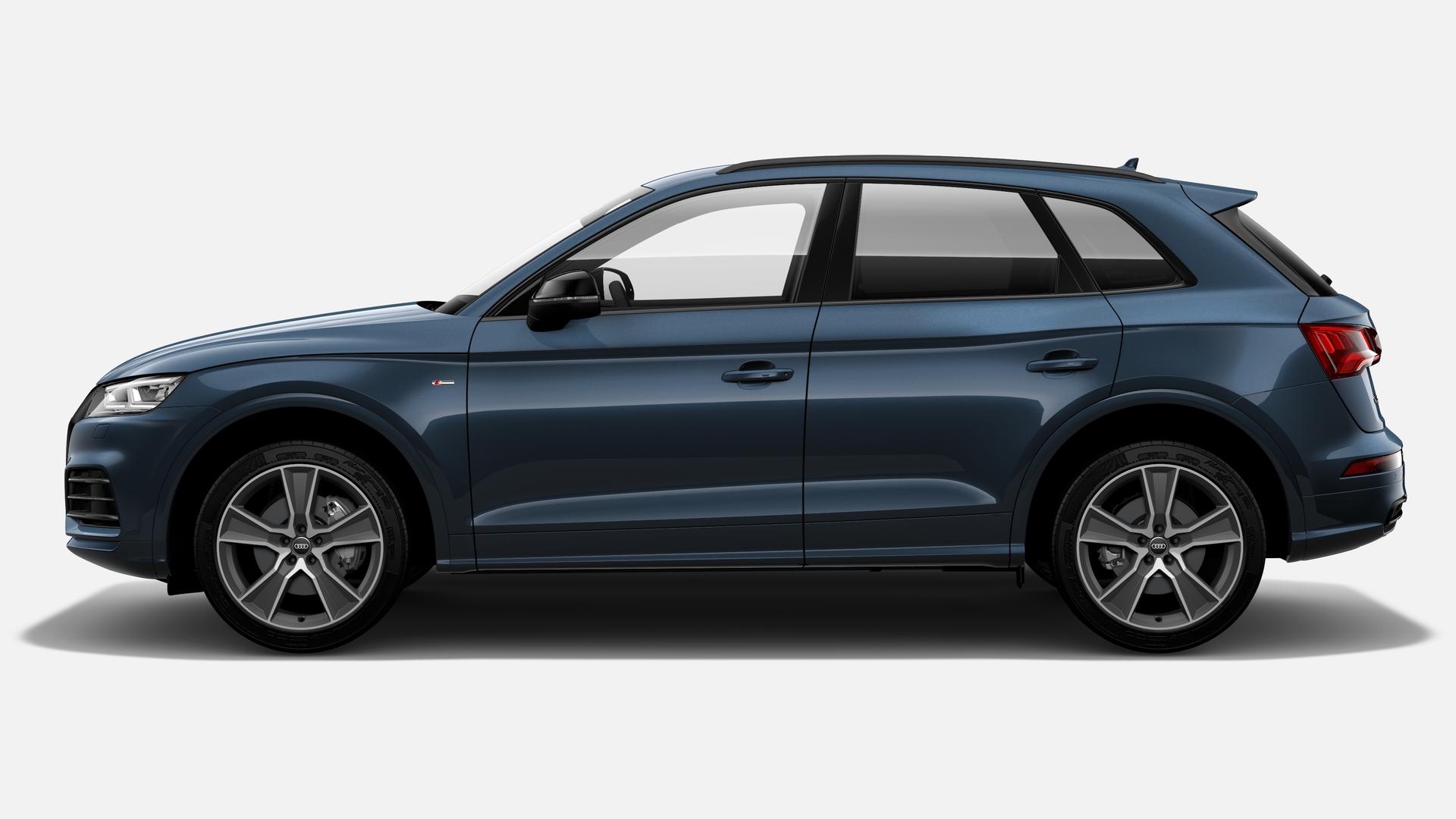 Vista Lateral izquierda de Audi Q5 2.0 TDI Black Line Quattro S Tronic 140 kW (190 CV)