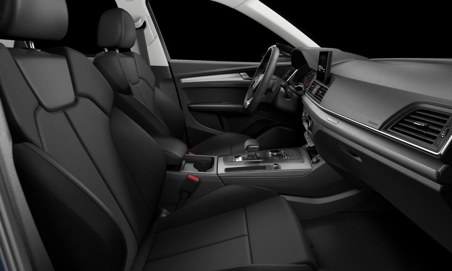 Vista Interior derecha de Audi Q5 2.0 TDI Black Line Quattro S Tronic 140 kW (190 CV)