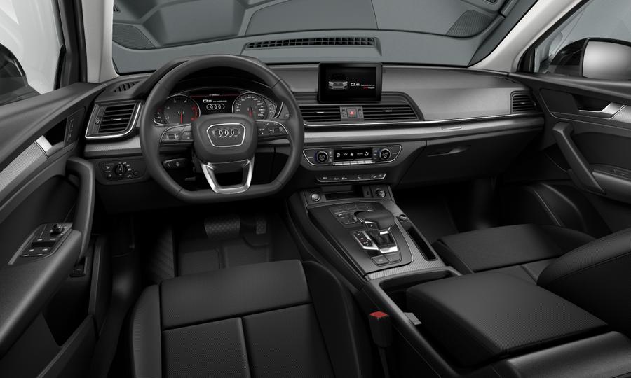 Vista Interior delantera de Audi Q5 2.0 TDI Black Line Quattro S Tronic 140 kW (190 CV)