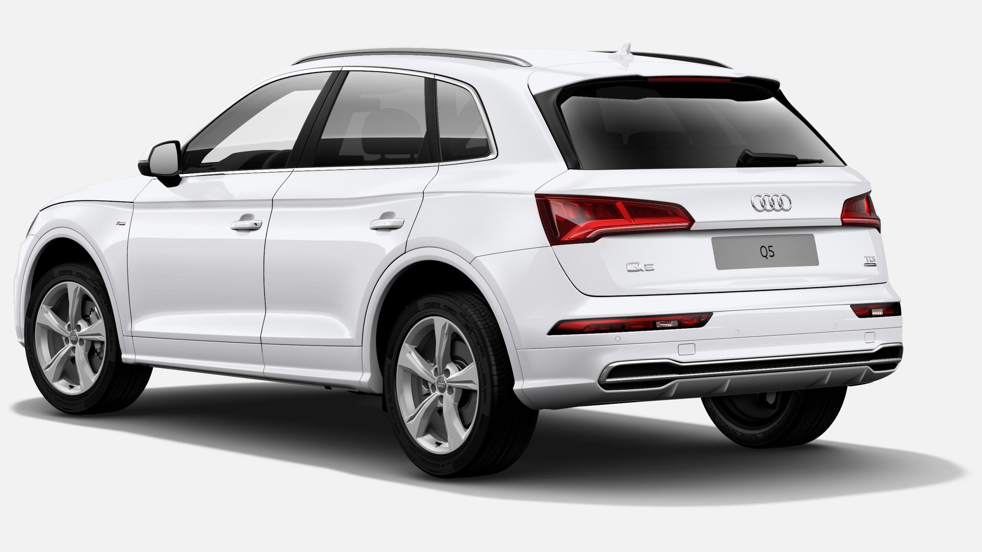 Vista Tres cuartos trasera izquierda de Audi Q5 2.0 TDI S Line Quattro S Tronic 140 kW (190 CV)