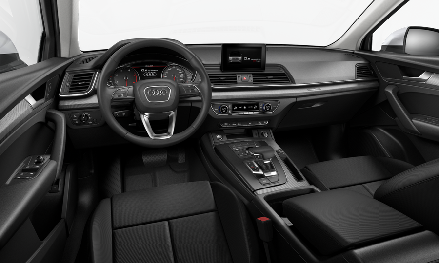 Vista Interior delantera de Audi Q5 2.0 TDI S Line Quattro S Tronic 140 kW (190 CV)
