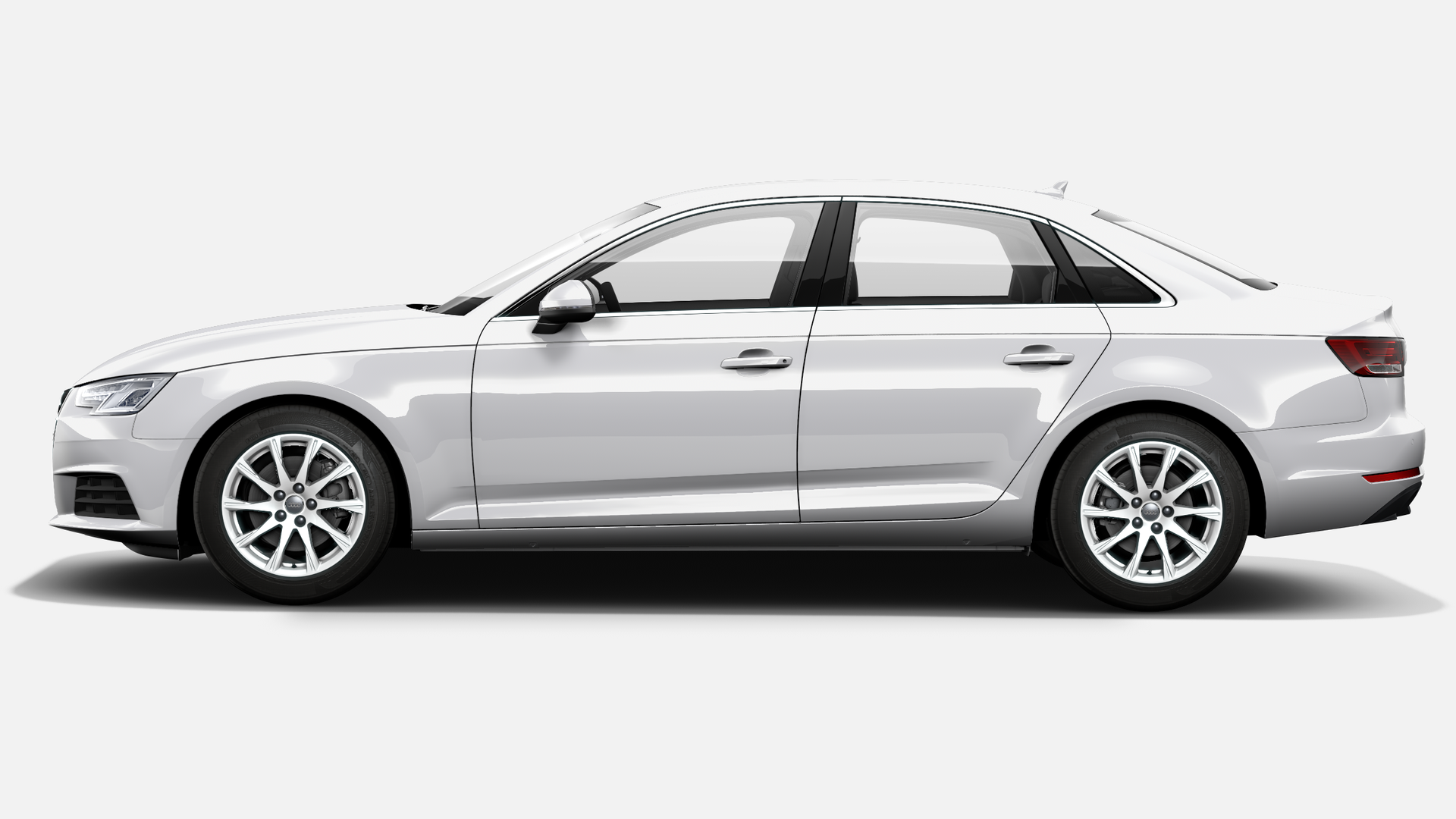 Vista Lateral izquierda de Audi A4 2.0 TDI ultra Advanced edition 110 kW (150 CV)