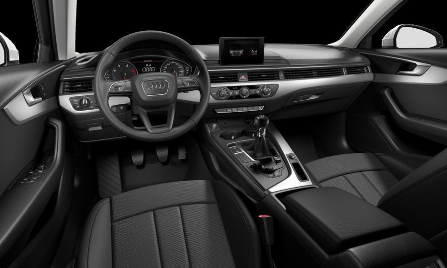 Vista Interior delantera de Audi A4 2.0 TDI ultra Advanced edition 110 kW (150 CV)