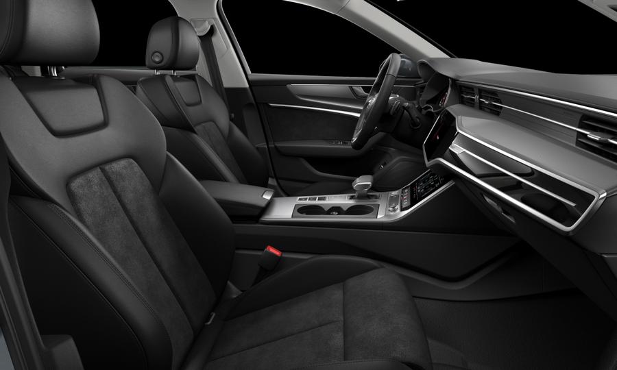 Vista Interior derecha de Audi A6 40 TDI Sport S Tronic 150 kW (204 CV)