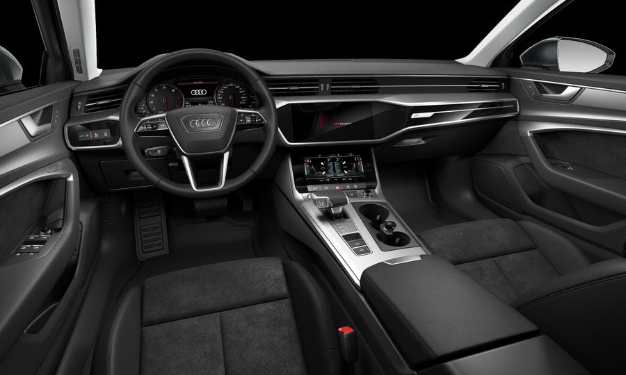 Vista Interior delantera de Audi A6 40 TDI Sport S Tronic 150 kW (204 CV)