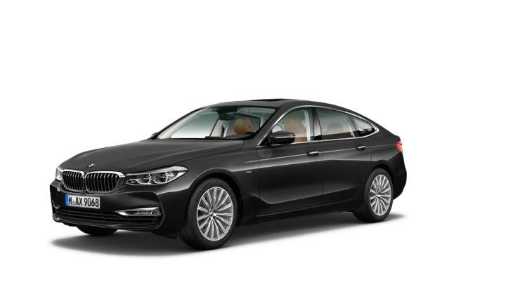Vista Tres cuartos delantera izquierda del BMW Serie 6 630i Gran Turismo
