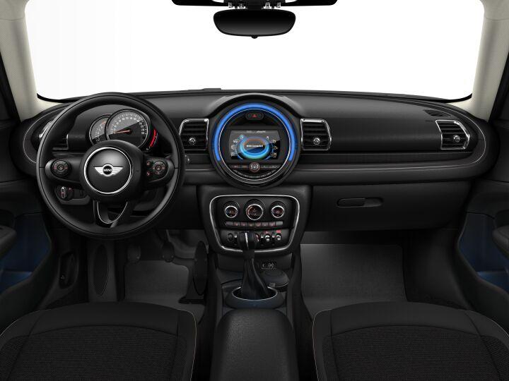 Vista Interior delantera del MINI Clubman 75 kW (102 CV)