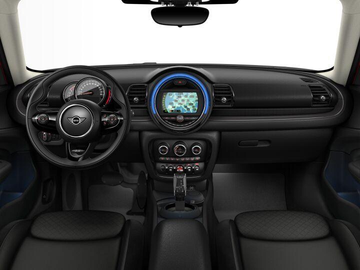 Vista Interior delantera del MINI Clubman Cooper D 110 kW (150 CV)