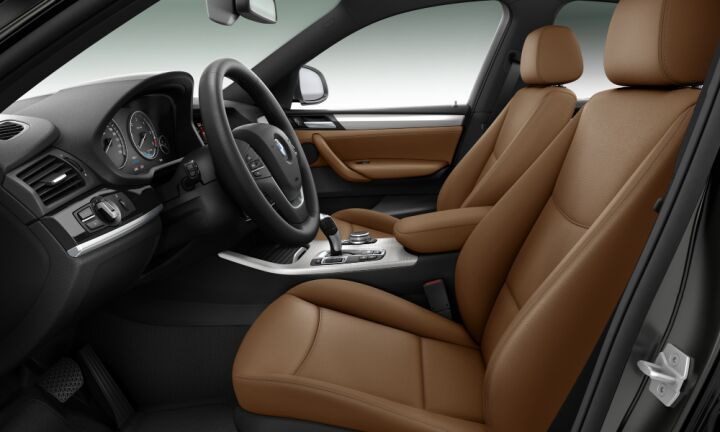 Vista Interior derecha del BMW X4 xDrive20d