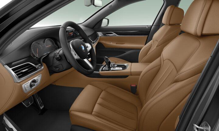 Vista Interior derecha del BMW Serie 7 730d