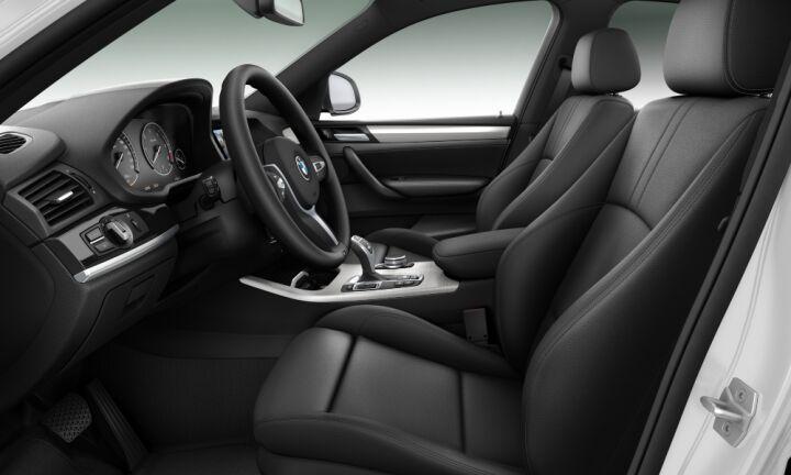 Vista Interior derecha del BMW X4 xDrive30d