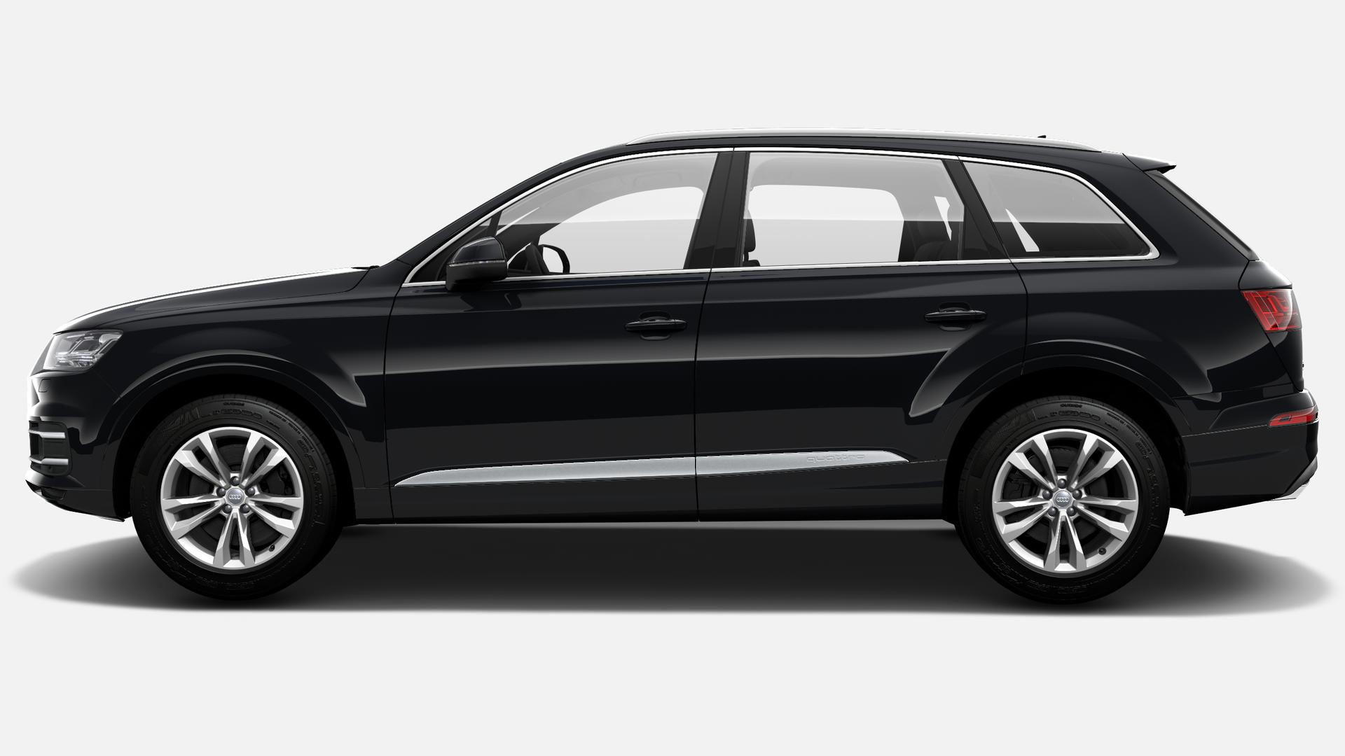 Vista Lateral izquierda de Audi Q7 50 TDI Design quattro tiptronic 210 kW (286 CV)