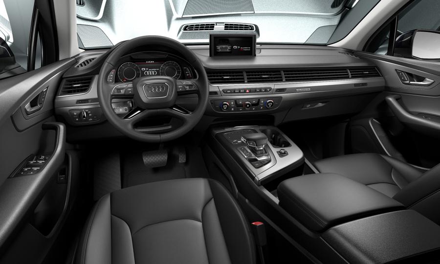 Vista Interior delantera de Audi Q7 50 TDI Design quattro tiptronic 210 kW (286 CV)
