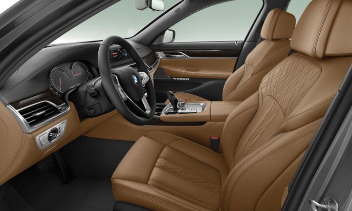 Vista Interior derecha del BMW Serie 7 730Ld