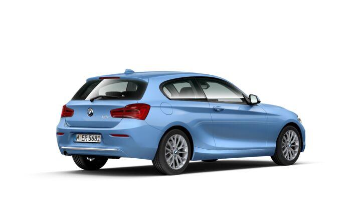 Vista Tres cuartos trasera izquierda del BMW Serie 1 116d 85 kW (116 CV)