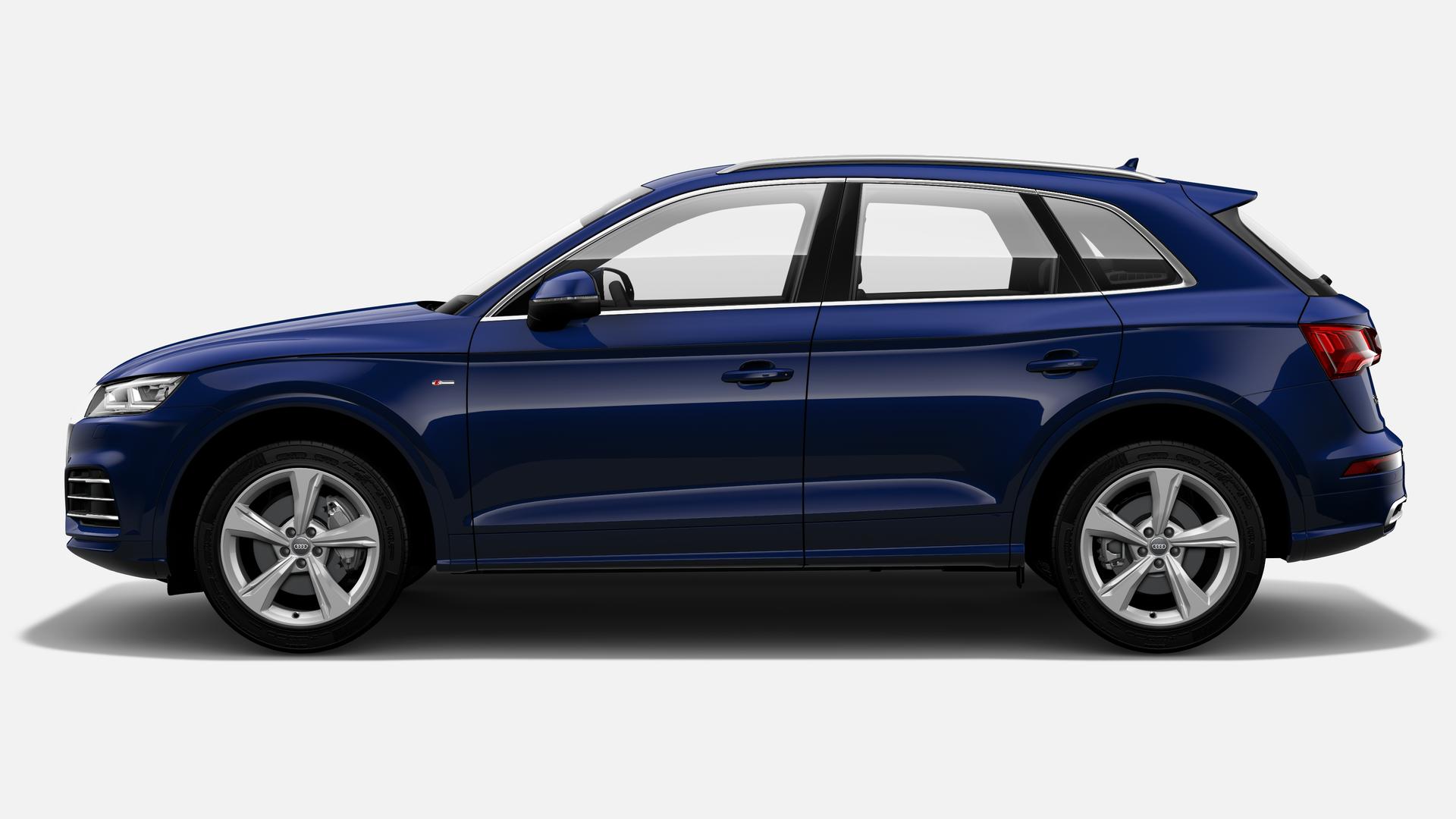 Vista Lateral izquierda de Audi Q5 40 TDI S Line Quattro S Tronic 140 kW (190 CV)