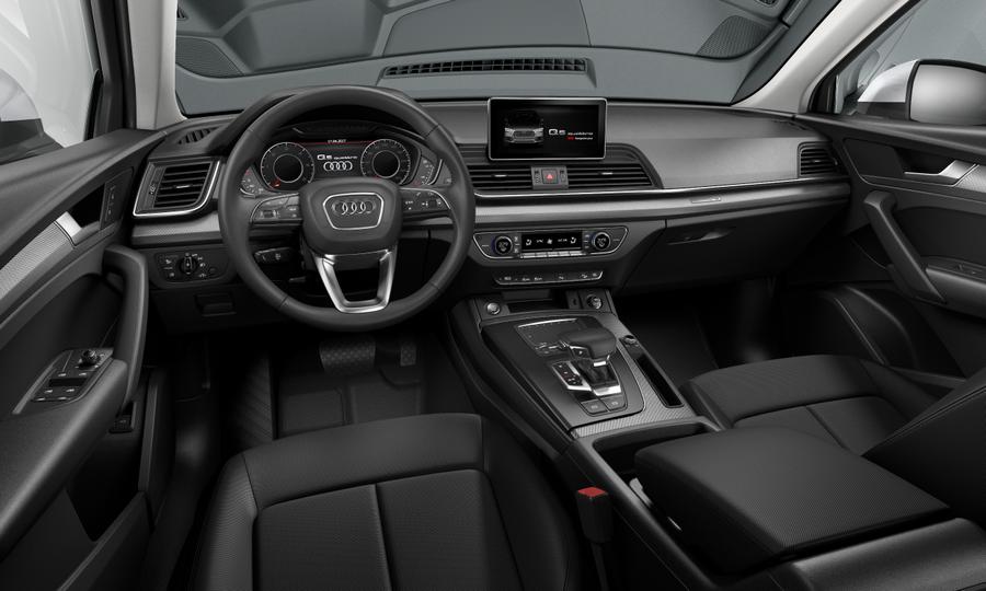 Vista Interior delantera de Audi Q5 35 TDI Design Quattro S Tronic 120 kW (163 CV)