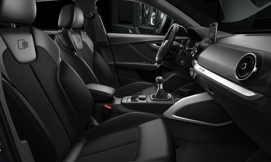 Vista Interior derecha de Audi Q2 30 TDI Design 85 kW (116 CV)