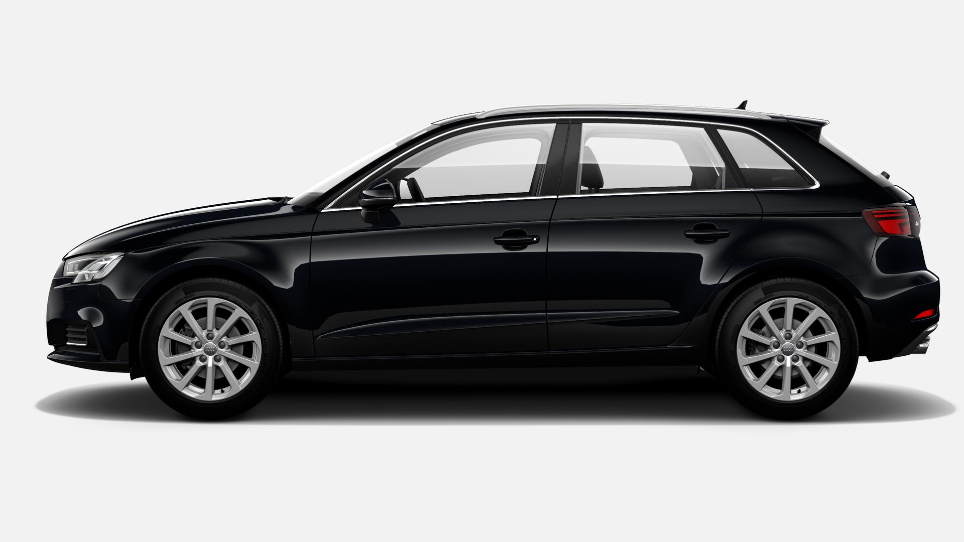 Vista Lateral izquierda de Audi A3 Sportback 30 TDI Design S-tronic  85 kW (116 CV)