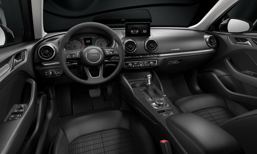 Vista Interior delantera de Audi A3 Sportback 30 TDI Design S-tronic  85 kW (116 CV)