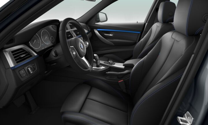 Vista Interior derecha del BMW Serie 3 318i Touring