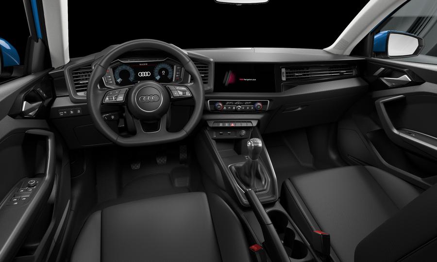 Vista Interior delantera de Audi A1 Sportback 30 TFSI S Line  85 kW (116 CV)