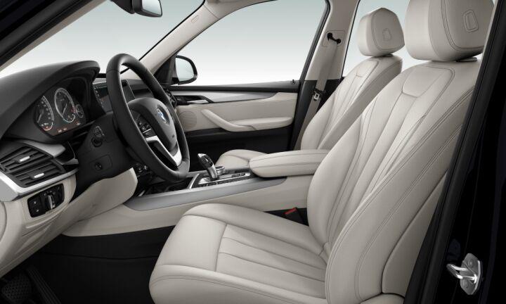 Vista Interior derecha del BMW X5 xDrive40d