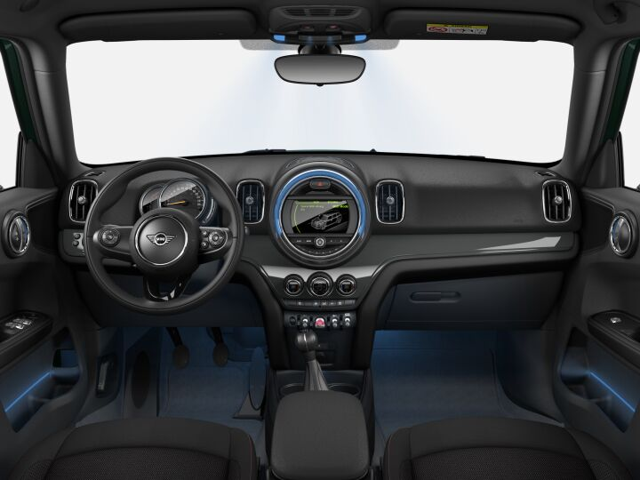 Vista Interior delantera del MINI Countryman One D 85 kW (116 CV)