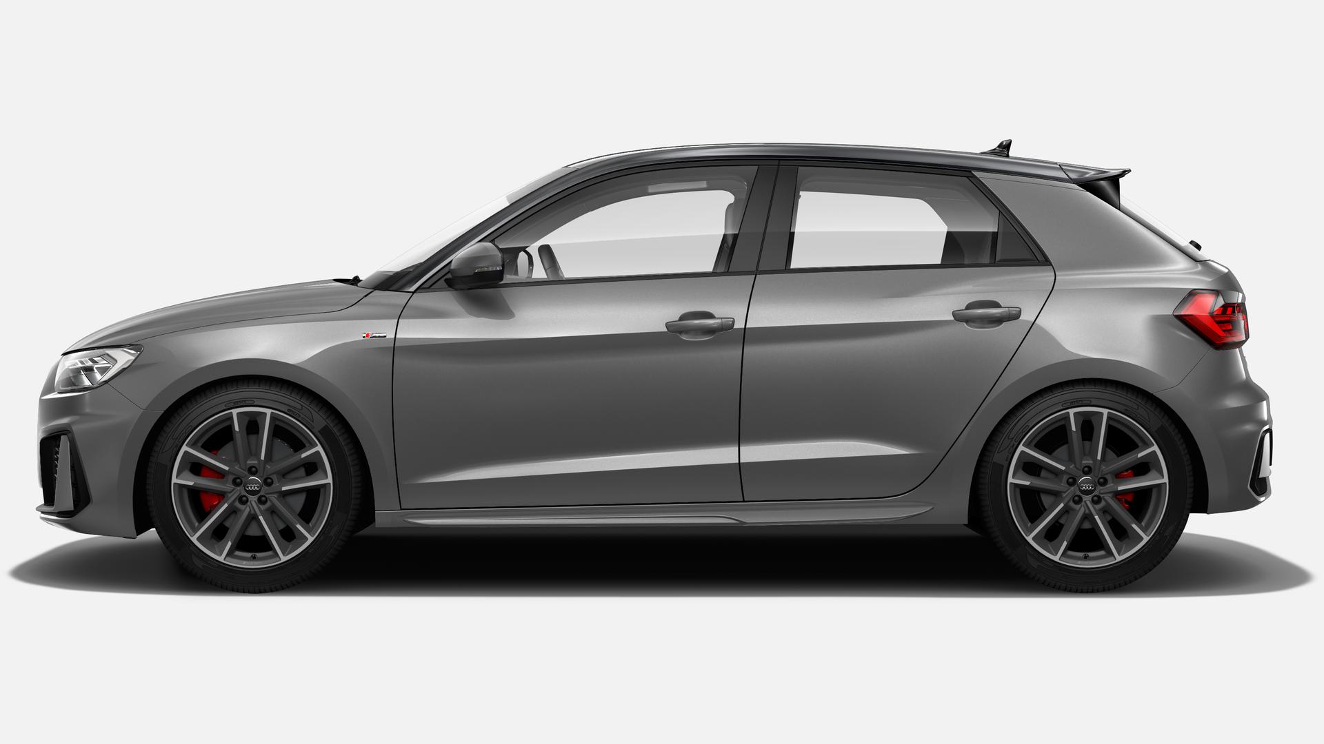 Vista Lateral izquierda de Audi A1 Sportback 30 TFSI S Line  85 kW (116 CV)