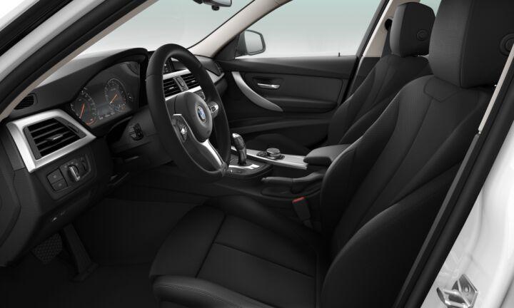 Vista Interior derecha del BMW Serie 3 318i