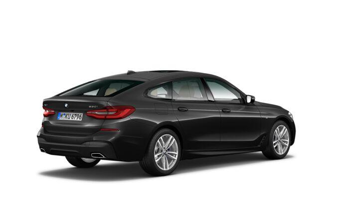 Vista Tres cuartos trasera izquierda del BMW Serie 6 630i Gran Turismo